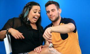 Boyfriends Shave Their Girlfriends' Legs