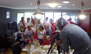Most Amazing Marriage Proposal Ever - Christmas Eve 2013 - Family Photo Surprise