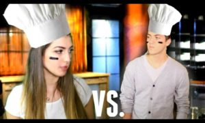 Boyfriend vs. Girlfriend! | Cooking!